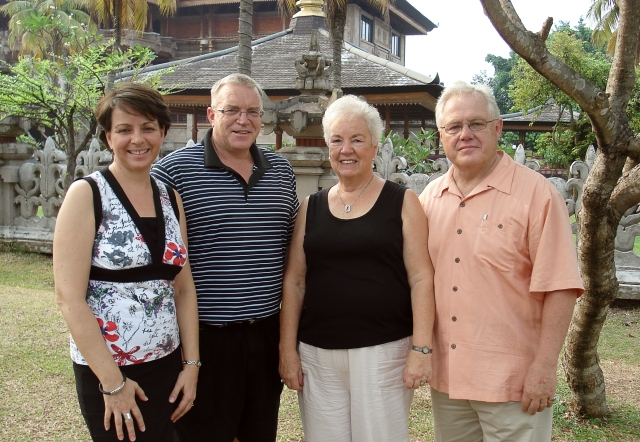 With Kirk and Shelly Kauffeldt in Jakarta, Indonesia_