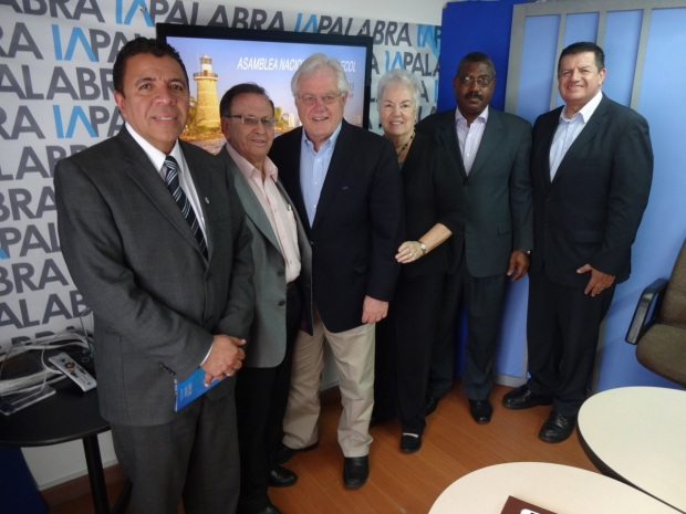 Leaders of Evangelical Confederation in Colombia
